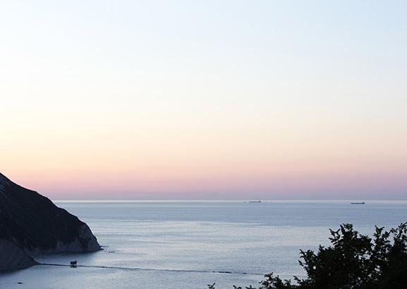 Die Strande Von Portonovo Il Trave La Vela Und Mezzavalle